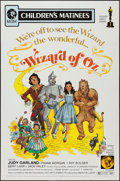 """Movie Posters:Fantasy, The Wizard of Oz (MGM, R-1972). One Sheet (27"""" X 41"""") Children'sMatinee Style. Fantasy.. ..."""