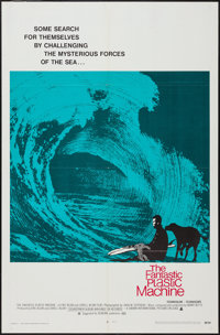 "The Fantastic Plastic Machine (Crown International, 1969). One Sheet (27"" X 41""). Surfing Documentary"