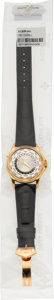 Timepieces:Wristwatch, Patek Philippe Single Sealed Ref. 5130R-001 New & Very FineRose Gold World Time Wristwatch. ...