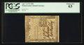 Colonial Notes:Pennsylvania, Pennsylvania April 3, 1772 18d PCGS Choice New 63.. ...