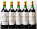 Red Bordeaux, Chateau Pichon Lalande 1982 . Pauillac. 2bn, 3ts, 2lbsl,3bsl, 1lcc. Bottle (5). ... (Total: 5 Btls. )