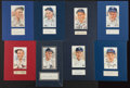 Baseball Collectibles:Others, Baseball Greats Signed Cut Signature Displays Lot of 8....