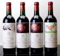 Red Bordeaux, Chateau Mouton Rothschild. Pauillac. 1996 lbsl Bottle (1).1998 1bn, 2lbsl, 1lnl Bottle (2). 1999 lbsl Bottl... (Total: 4Btls. )