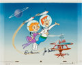 Animation Art:Production Cel, The Jetsons Signed Limited Edition Hand-Painted Animation Cel#AP3/20 (Hanna-Barbera, 1983)...
