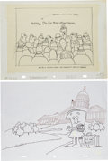 Animation Art:Production Drawing, Schoolhouse Rock Storyboard & Publicity Drawing(undated).... (Total: 2 Original Art)