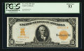 Large Size:Gold Certificates, Fr. 1172 $10 1907 Gold Certificate PCGS About New 53.. ...