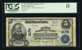 National Bank Notes:Colorado, Colorado Springs, CO - $5 1902 Plain Back Fr. 605 The First NB Ch. # 2179. ...