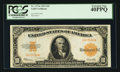 Large Size:Gold Certificates, Fr. 1173a $10 1922 Gold Certificate PCGS Extremely Fine 40PPQ.. ...