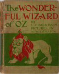 Books:Children's Books, L. Frank Baum. The Wonderful Wizard of Oz. George M. HillCompany, 1899. First edition, second state. Illustrate...