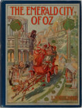 Books:Children's Books, L. Frank Baum. The Emerald City of Oz. Reilly & Britton,1910. First edition. Illustrated by John R. Neill. Publ...