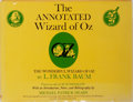 Books:Children's Books, L. Frank Baum, introduction by Michael Patrick Hearn. SIGNED.The Annotated Wizard of Oz. The Wonderful Wizard of Oz...