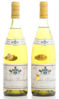 White Burgundy, Chevalier Montrachet 1983 . Domaine Leflaive . 2lbsl, 1tl.Bottle (2). ... (Total: 2 Btls. )