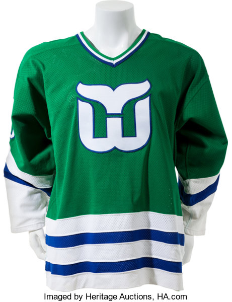 1984-85 Ron Francis Game Issued Hartford Whalers Jersey. ... Hockey ... 2fb1732825c