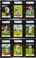 "Baseball Cards:Sets, 1961 Golden Press ""Baseball Hall of Fame"" Complete Set (33) - #2 on the SGC Set Registry! ..."