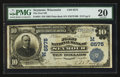 National Bank Notes:Wisconsin, Seymour, WI - $10 1902 Plain Back Fr. 624 The First NB Ch. # (M)6575. ...