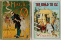 Books:Children's Books, L. Frank Baum. Two Oz Books. Including The Magic of Oz.Reilly & Lee, 1919. First edition. Illustrated by John R...(Total: 2 Items)