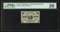 Fractional Currency:Third Issue, Fr. 1226 3¢ Third Issue No Pearls PMG Choice About Unc 58.. ...