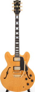 Musical Instruments:Electric Guitars, 1985 Gibson ES-347 Blonde Semi-Hollow Body Electric Guitar, Serial# 83035559. ...