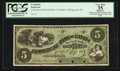 Canadian Currency: , Collingwood, PC- Commercial Branch Bank of Canada $5 186_ Ch. #200-10-04FP. ...
