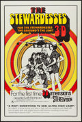 """Movie Posters:Adult, The Stewardesses (Sherpix, 1969). One Sheet (27.5"""" X 41"""") 3-D Style. Adult.. ..."""