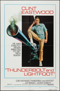 "Thunderbolt and Lightfoot (United Artists, 1974). One Sheet (27"" X 41"") Style C. Crime"