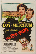 "Movie Posters:Drama, The Red Pony (Republic, R-1957). One Sheet (27"" X 41""). Drama.. ..."