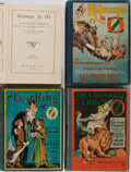 Books:Children's Books, [L. Frank Baum] Ruth Plumly Thompson. Lot of Four Oz Books. Reilly& Lee, various dates. Various editions. Illustrated by Jo...(Total: 4 Items)