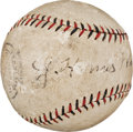 Autographs:Baseballs, Early 1930's Honus Wagner Single Signed Baseball....