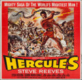 "Movie Posters:Action, Hercules (Warner Brothers, 1959). Six Sheet (78"" X 79""). Action....."