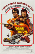 """Movie Posters:Horror, Race with the Devil (20th Century Fox, 1975). One Sheet (27"""" X 41"""") and Lobby Cards (4) (11"""" X 14""""). Horror.. ... (Total: 5 Items)"""