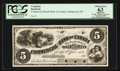 Canadian Currency: , Collingwood, PC- Commercial Branch Bank of Canada $5 186_ Ch. #200-10-04FP Progress Face Proof. ...