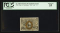 Fractional Currency:Second Issue, Fr. 1249 10¢ Second Issue PCGS About New 53.. ...
