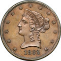 Patterns, 1862 $10 Ten Dollar, Judd-298 Bronzed, Pollock-358, R.6, PR64 Brown NGC. CAC....