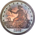 Patterns, 1875 20C Twenty Cents, Judd-1396, Pollock-1539, R.7, PR63+ NGC. CAC....