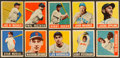 Baseball Cards:Lots, 1949 Leaf Baseball Collection (35). ...