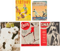 Magazines:Miscellaneous, Vintage Magazine Group (Various, 1938-80).... (Total: 5 Items)