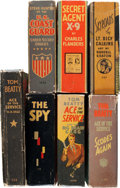 Big Little Book:Miscellaneous, Big Little Book Adventure Group (Whitman, 1930s) Condition: AverageFN.... (Total: 7 Comic Books)
