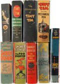 Big Little Book:Miscellaneous, Big Little Book Humor Group (Whitman, 1930s) Condition: AverageVG/FN.... (Total: 9 Comic Books)