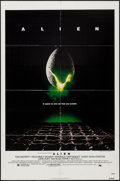 """Movie Posters:Science Fiction, Alien (20th Century Fox, 1979). One Sheet (27"""" X 41"""") & Program(8.5"""" X 11""""). Science Fiction.. ... (Total: 2 Items)"""