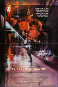 "Pennies from Heaven (MGM, 1981). One Sheet (27"" X 41"") & Lobby Card Set of 8 (11"" X 14""), &..."