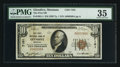 National Bank Notes:Montana, Glendive, MT - $10 1929 Ty. 1 The First NB Ch. # 7101. ...