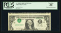 Error Notes:Inverted Third Printings, Fr. 1916-L $1 1988A Federal Reserve Note. PCGS Very Fine 30.. ...