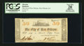 Obsoletes By State:Louisiana, New Orleans, LA- City of New Orleans 50¢ May 6, 1862. ...