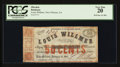 Obsoletes By State:Louisiana, New Orleans, LA- Louis Willmer 50¢ January 18, 1862. ...
