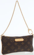 Luxury Accessories:Bags, Louis Vuitton Classic Monogram Canvas Mini Pochette Bag. ...