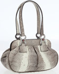 Luxury Accessories:Bags, Mary Norton Lizard Small Tote Bag. ...