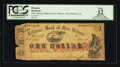 Obsoletes By State:Louisiana, New Orleans, LA- A.T. Brady at Citizens' Bank of New Orleans $1 Feb. 1, 1862. ...