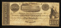 Obsoletes By State:Louisiana, New Orleans, LA- New Orleans Improvement and Banking Company $100 March 16, 1836 G10. ...