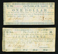 Obsoletes By State:Louisiana, (Opelousas), LA- Parish of St. Landry 50¢, $1 July 19, 1862. ... (Total: 2 notes)