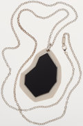 Luxury Accessories:Accessories, Ippolita Black and White Necklace with Silver Chain. ...